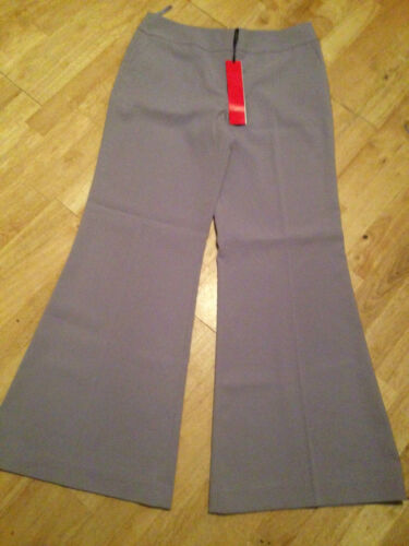 Ladies lilac  trousers extra wide kick flare leg NAUGHTY designer Size 8 10 12