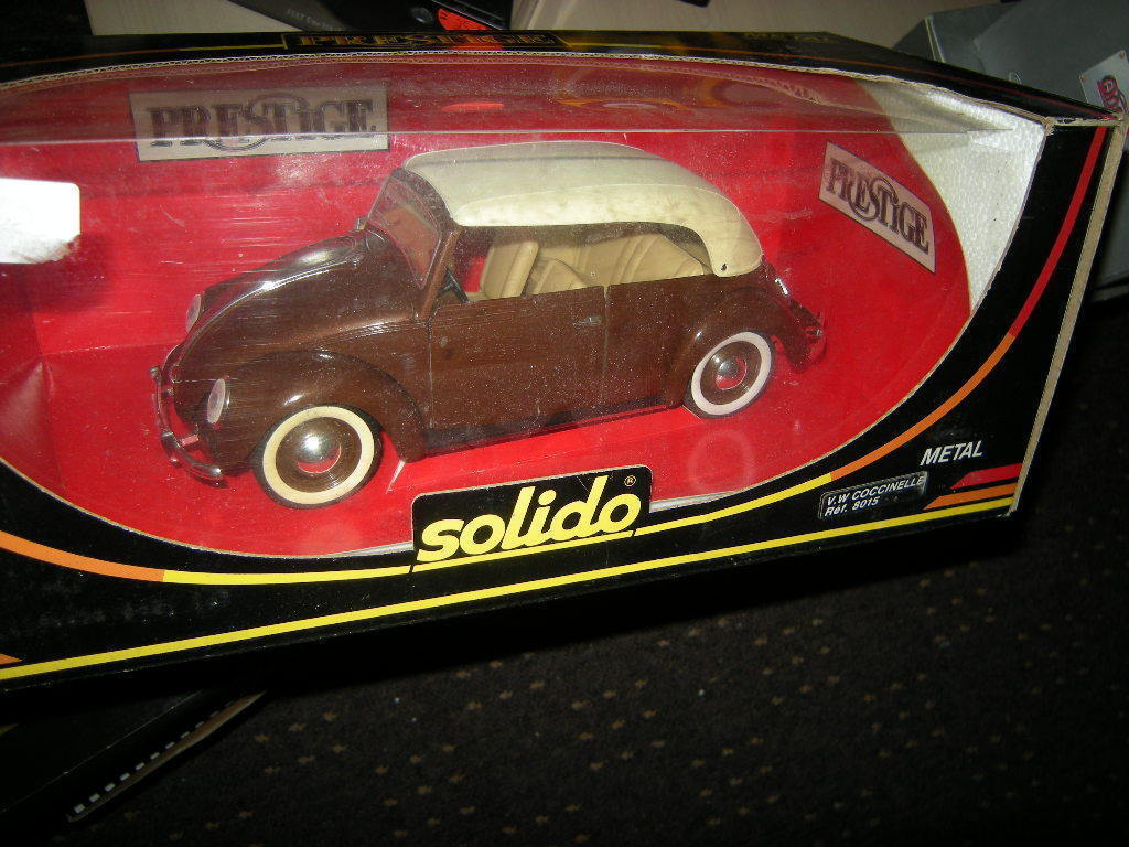 1 18 Solido Solido Solido VW Käfer Coccinelle Nr. 8015 OVP 9c6c2d