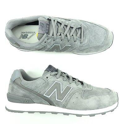 New Balance 696 V1 Running Shoe Women Size 9 Grey Suede Leather | eBay
