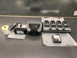 Details about Zebra P4T Mobiler Thermo Etikettendrucker WLAN 80211BG CPCL  EPL ZPL
