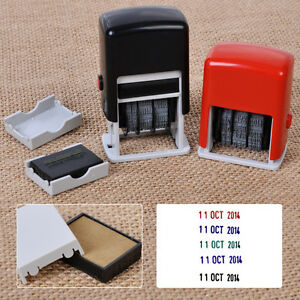 Self-Inking-Automatic-Rotation-Mini-Dater-Date-Chop-Stamp-Seal-Ink-Pad