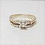 thumbnail 3 - Harold Freeman 14K Gold Brilliant Cut Diamond Estate Engagement Wedding Ring