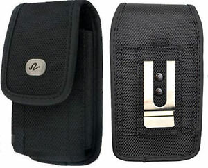 Rugged-Canvas-Holster-fits-w-silicone-case-on-for-Sony-Phones