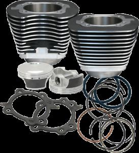 S-amp-S-Cycle-Big-Bore-Cylinder-Kit-106-034-Black-Powder-Coated-910-0206-Big-Twin-07-17