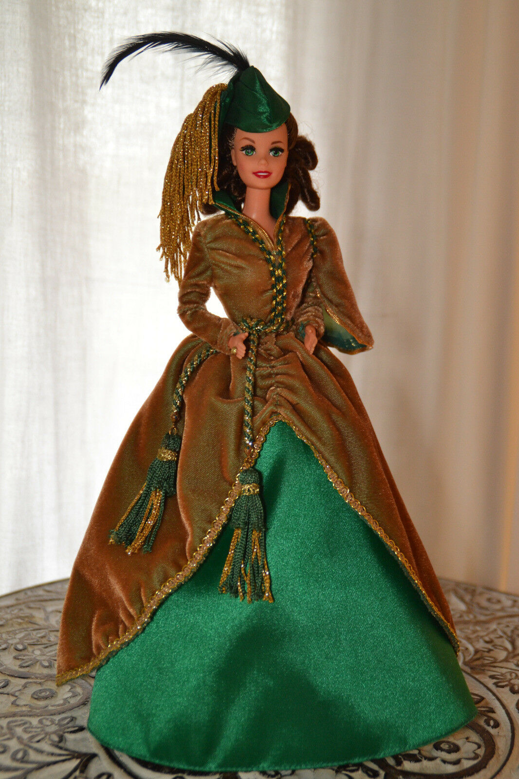 1994 Scarlet O 'Hara BARBIE Hollywood Legends Collection BARBIE raccolta 90er
