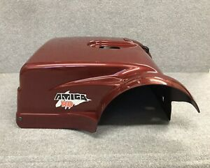 AMIGO-MOBILITY-RD-Scooter-NEW-STYLE-Rear-Cover-shroud-Dark-Red-color-NEW