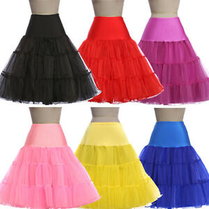 Gk Cosplay Petticoat Underskirt Vintage Knee Length A Line