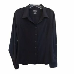 EXOFFICIO-Women-039-s-Travel-Leisure-Button-Up-Casual-Adventure-Shirt-Size-M