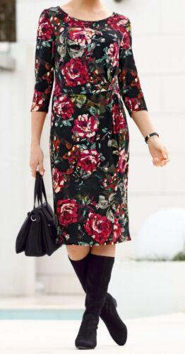 Kleid Jerseykleid Freizeitkleid Sommerkleid 22 24 25 40 42 44 46 48 50 52