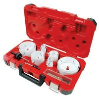 Milwaukee 49-22-4155 Master Plumbers Hole Saw Kit 18 Pc 3ejd8