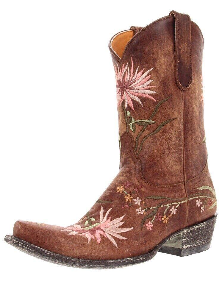perfezionare Old Gringo Ellie 8.5 western cowgirl cowgirl cowgirl stivali designer  comprare a buon mercato