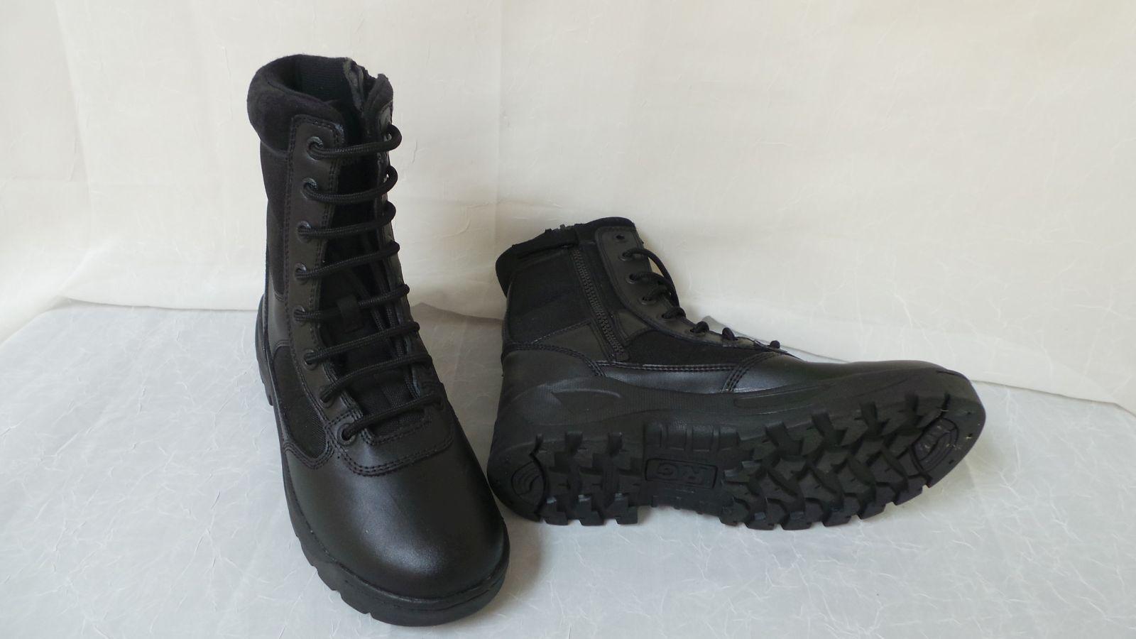 New  RG Response Gear Mens Size Zip II Tactical Boots-Style 1061   90G  la