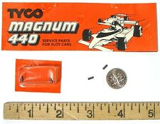 2 TYCO 440 440-X2 Slot Car Chassis Motor CARBON BRUSHES CARDED FACTORY PART 6552