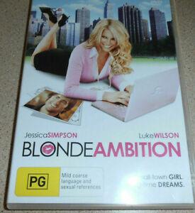 Blonde-ambition-DVD-2007-Jessica-Simpson-Luke-Wilson-ROM-COM-REGION-4-AUSTRAL