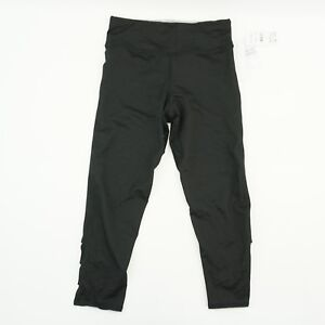 Splendid-Womens-Capri-Twist-Calf-Back-Activewear-Legging-Crop-Pants-Black-S