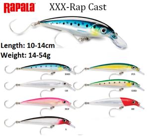 Rapala-XXX-Rap-Cast-Sinking-Fishing-Lure-10-14cm-14-54g-Various-Colours