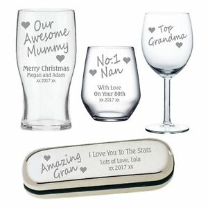 Engraved gifts for mum at christmas