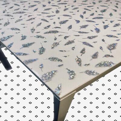 Tischfolie Tischdecke Schutzfolie Mit Muster 2mm Transparent Klar Weich Pvc 10 Ebay