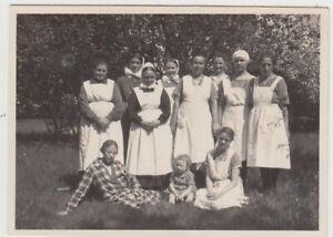 F30488-Orig-Foto-Gruppenbild-Krankenschwestern-1928-29