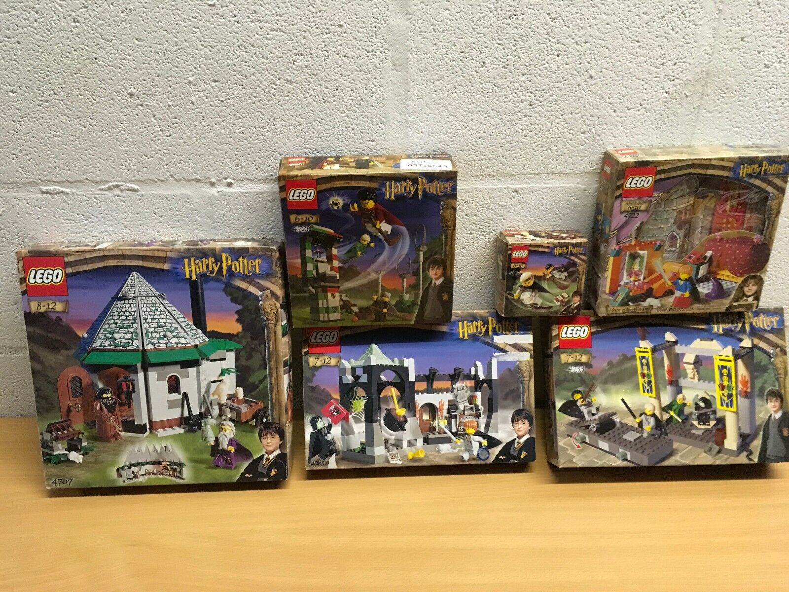 HARRY POTTER LEGO COMPLETE BOXED VGC 4705 4707 4711 4722 4726 4733 YOU CHOOSE