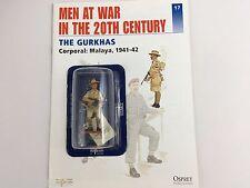 The Gurkhas Corporal Malaya 1941-42 1/32th Scale Die Cast Figure by del Prado