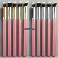 5pcs Makeup Brush Set Foundation Eye Shadow Wood Brushes Blusher Tools Soft Rlwh