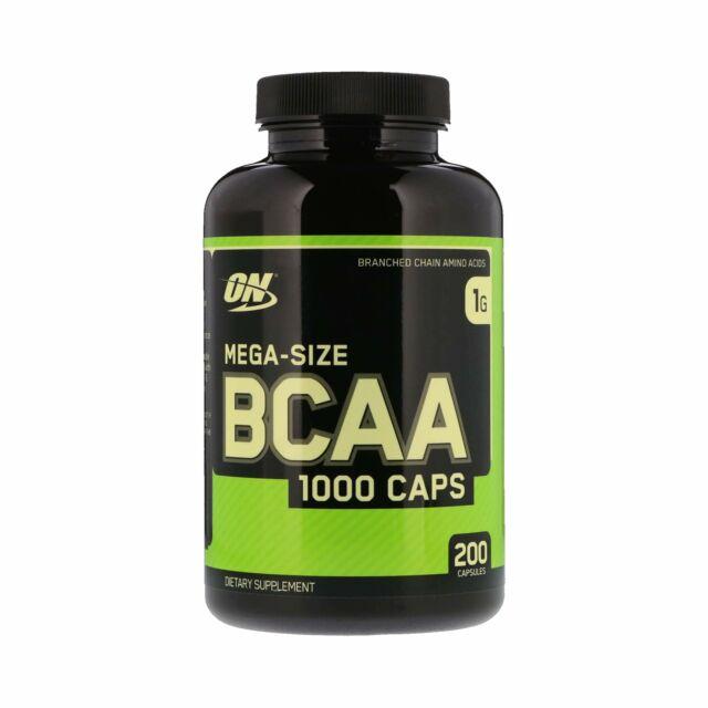 NEW Optimum Nutrition - BCAA 1000 Caps - 200 Count