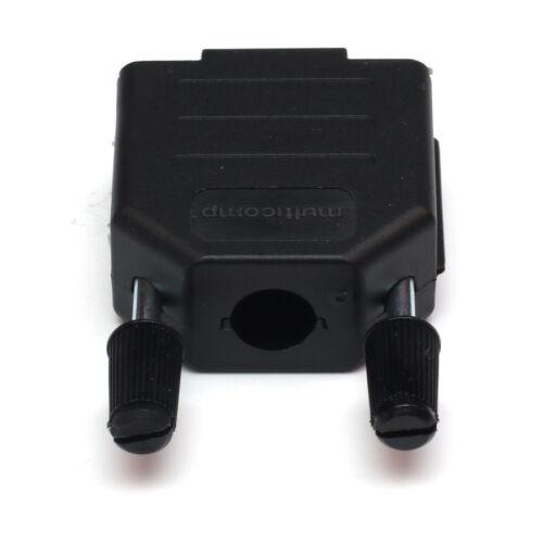 9 broches femelle d-sub plug solder connecteur série RS232 DB9 /& capuche-vis