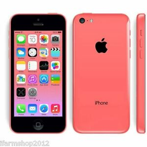 APPLE-IPHONE-5C-8GB-ROSA-GRADO-A-B-ACCESSORI-SMARTPHONE-RICONDIZIONATO
