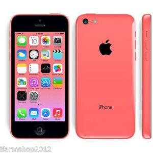 APPLE-IPHONE-5C-32GB-ROSA-GRADO-A-B-ACCESSORI-SMARTPHONE-RICONDIZIONATO