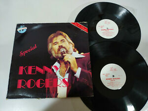 "Kenny Rogers Special Phono Musik Deutsch Edition - LP vinyl 12 "" G VG 5T"