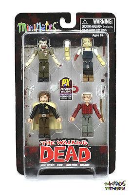 Walking Dead Minimates SDCC Exclusive Hershel/'s Farm Lookout Duty Rick
