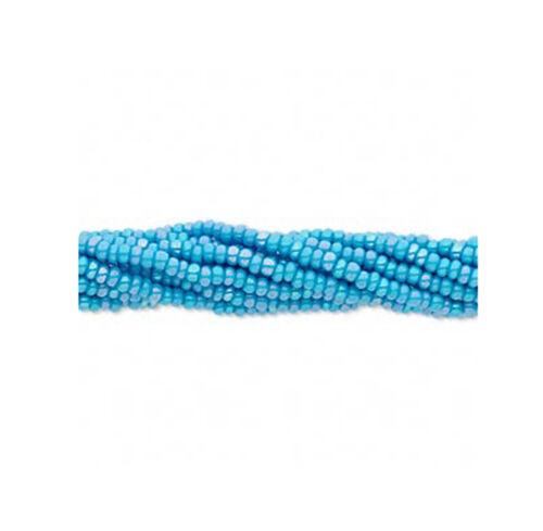 12 Strands Preciosa Czech Glass Seed Beads Size 11//0 Rainbow Colors  Full Hank