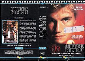 OTTOBRE-NERO-1991-vhs-ex-noleggio