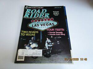 March 1989 Road Rider Magazine