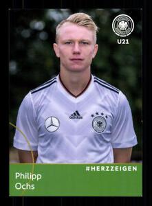Philipp-Ochs-DFB-Autogrammkarte-U-21-2018-A-181602