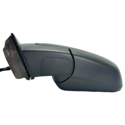 Side Mirror for Chevrolet Equinox 2010-2014 with Spotter Power Driver Left Black