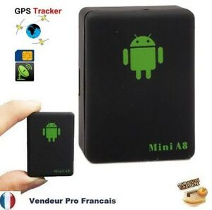 mini a8 traceur traqueur tracker gsm gprs gps voiture personne animale moto ebay. Black Bedroom Furniture Sets. Home Design Ideas