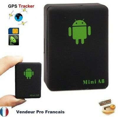 Mini A8 Traceur Traqueur Tracker GSM/GPRS/GPS Voiture/Personne/Animale/Moto
