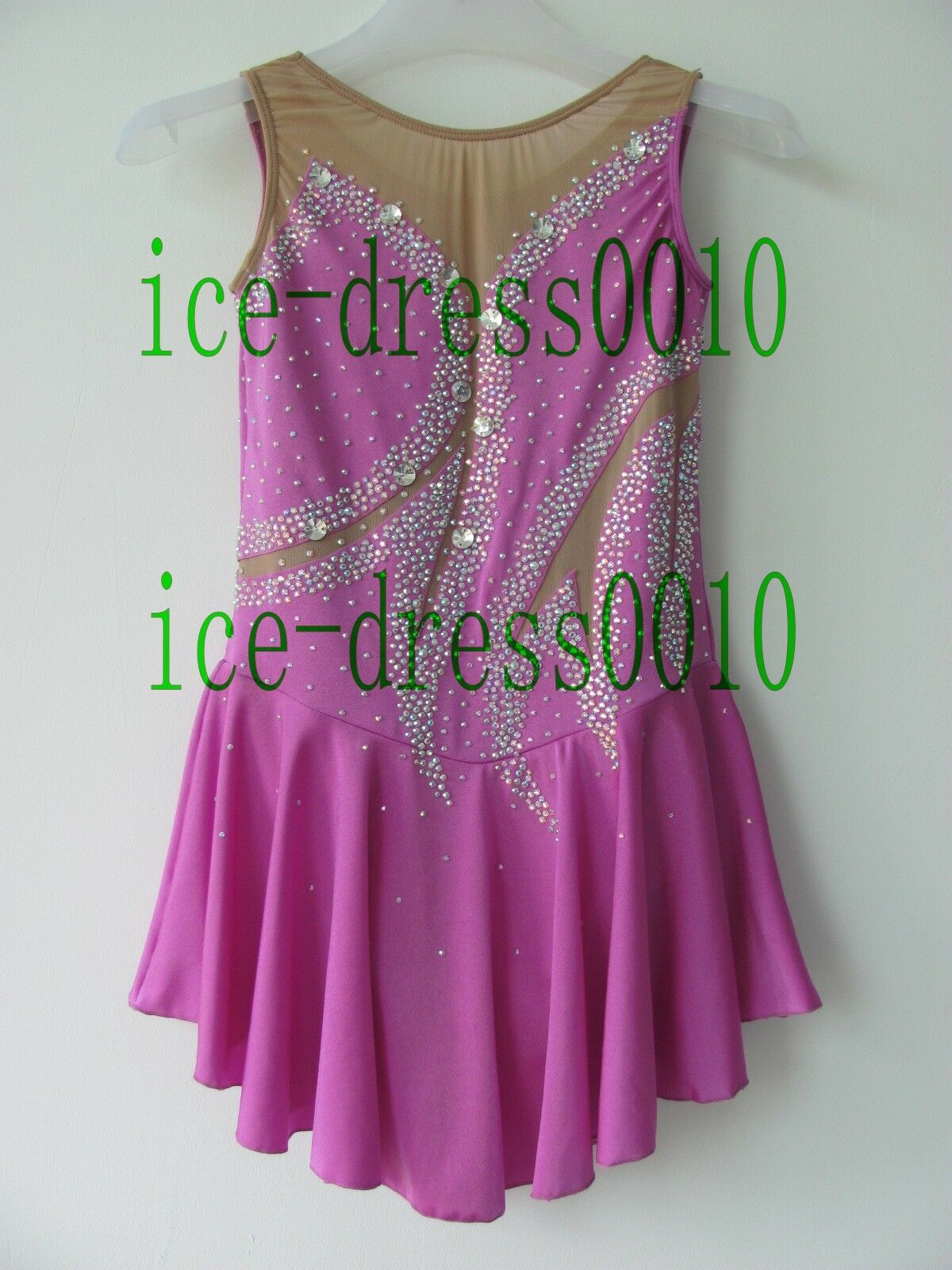 2018 new style Figure Skating Ice Skating Dress Gymnastics Costume 113-14
