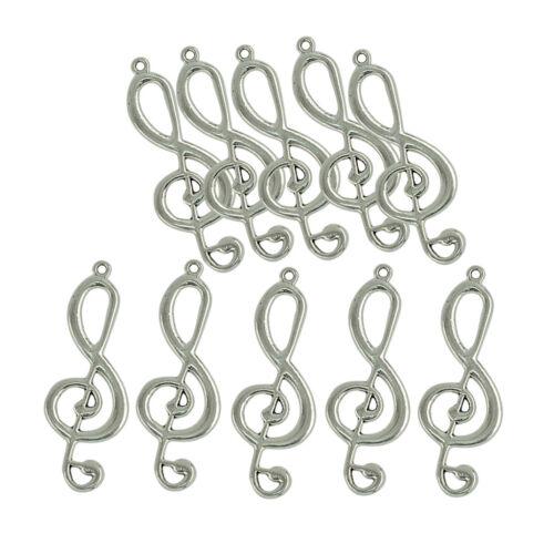 10 Pcs Fashion Pendant Necklace Base Jewelry Charms Extra Large Pendants