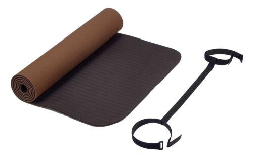 yoga dimensions: environ 183x 61x 0,6cm. fitness tapis de Deuser Gymnastique