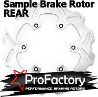 Suzuki Rm65 Rm 65 Rear Brake Rotor Disc Pro Factory Braking 2003 2004 2005 on Sale