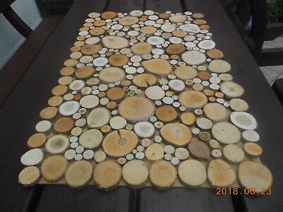 200 Baumscheiben Astscheiben Holzscheiben Deko Basteln U Floristik 2 8 Cm Ebay
