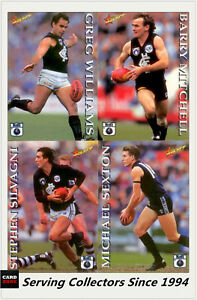 1995-Select-AFL-Series-1-Trading-Card-Base-Card-Team-Set-Carlton-15