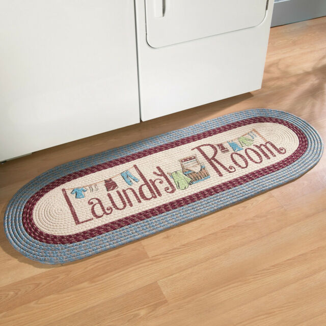 "20/""/×48/"" Homcomoda Laundry Room Mats Washable Runner Rug Non Slip Area Rug"