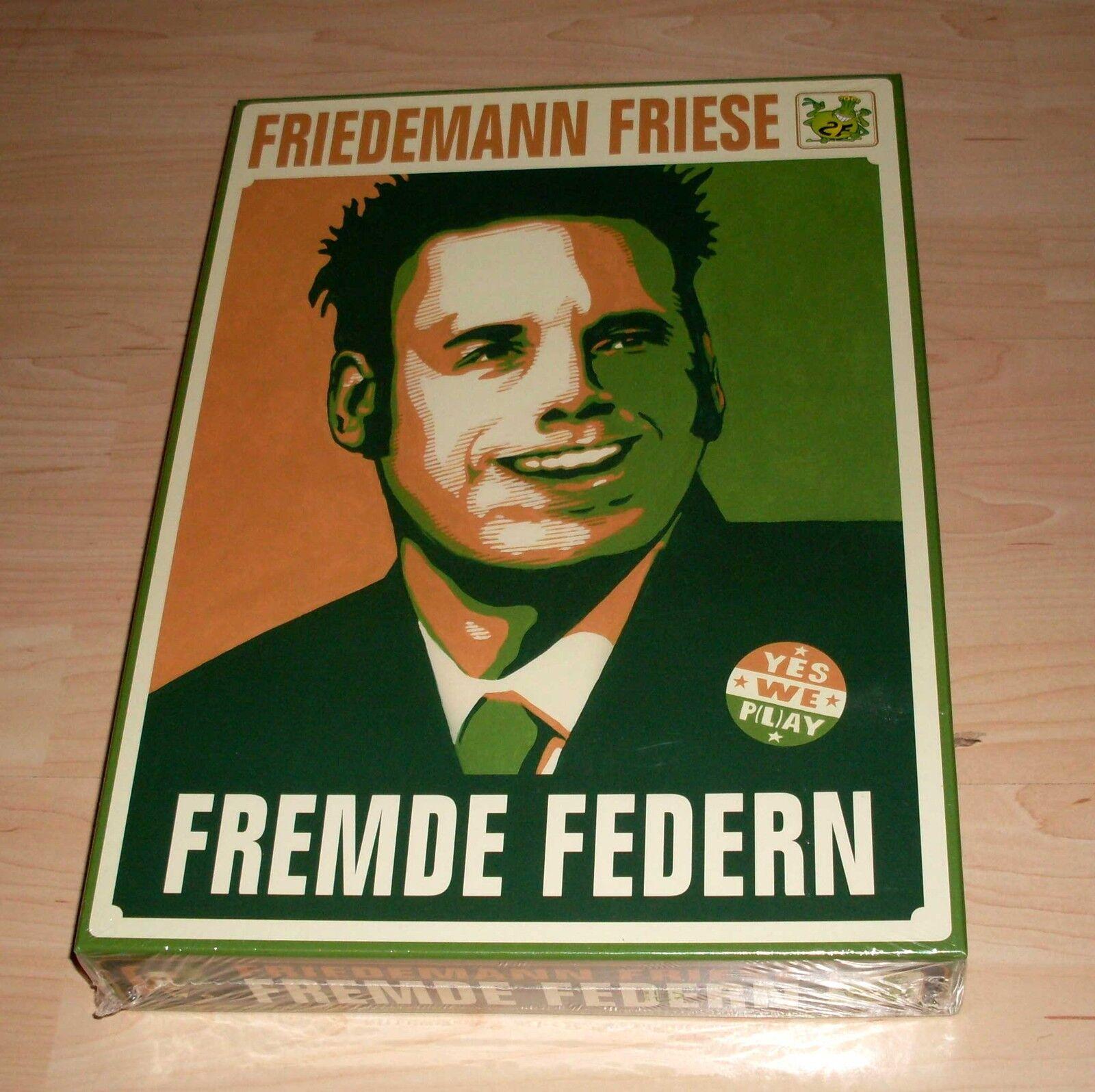 Jeu de plateau-étrangers ressorts-Friedemann moulures en bois - 2-4 JOUEURS-NEUF emballage d'origine