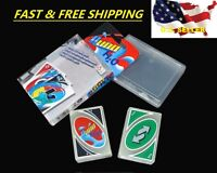 Uno H2o Cards Waterproof Clear Game Family Fun 1 Game ❶fast Shipping Usa❶