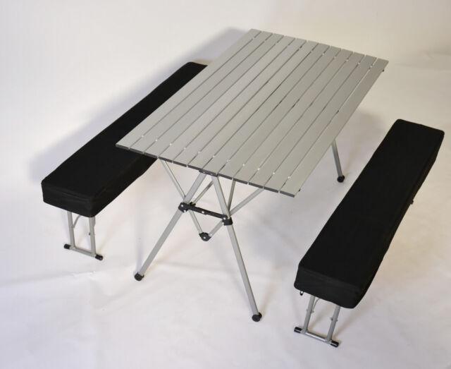 Picknicktisch Garnitur Alu Klapptisch Campingtisch Gartentisch Tisch