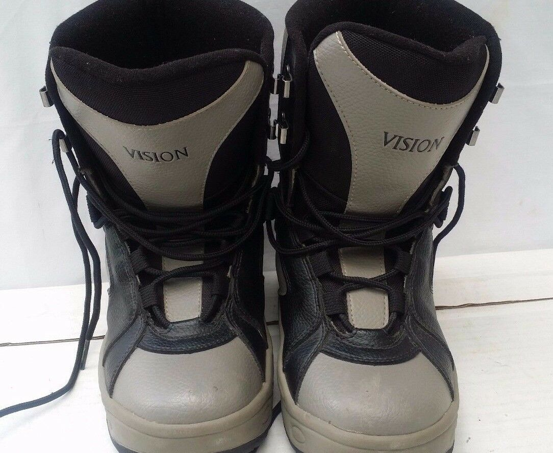 Vision Snowboarding Boots Classic Size 8